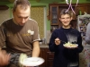 Первый ужин участников 1на1